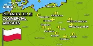 Map Of Polish Airports My Blog