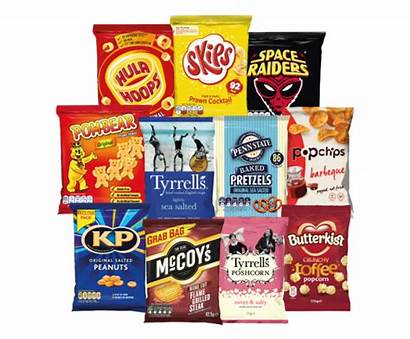 Crisps Snacks Kp Popcorn Packets Recycling Nuts