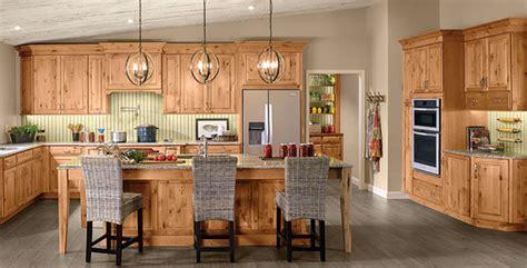 Rustic Alder Kitchen in Natural   KraftMaid