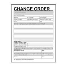 changeorderform resized  change order form