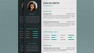 Web Designer Resume Cover Letter Portfolio Template