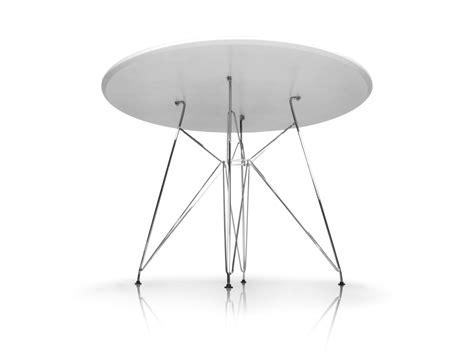 Tisch Rund Weiss by Rolly Tisch Rund 105 Cm Wei 223