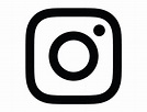 New Instagram logo vector (black and white) free download ...