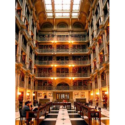 The Peabody Stack Room of the George Library