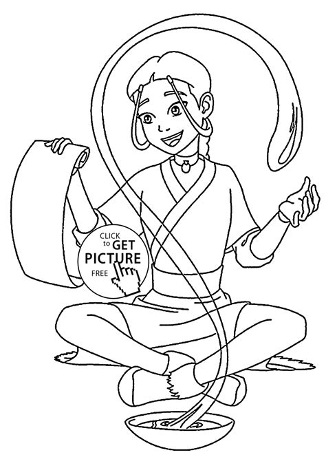 Bakugan Figure Coloring Page