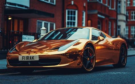 golden ferrari wallpaper download wallpapers ferrari 458 tuning golden ferrari