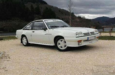 Opel Manta Gte by Opel Manta 2000 Gte 1982 Classic Racing Annonces