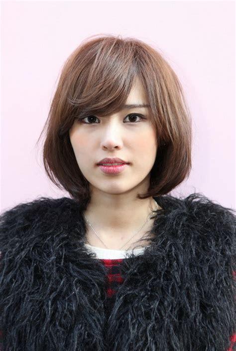 korean short hairstyle  women