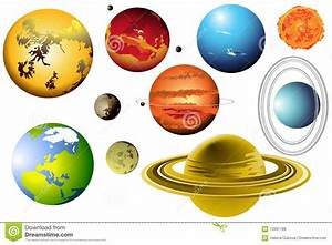 Planet clipart solar system - Pencil and in color planet ...