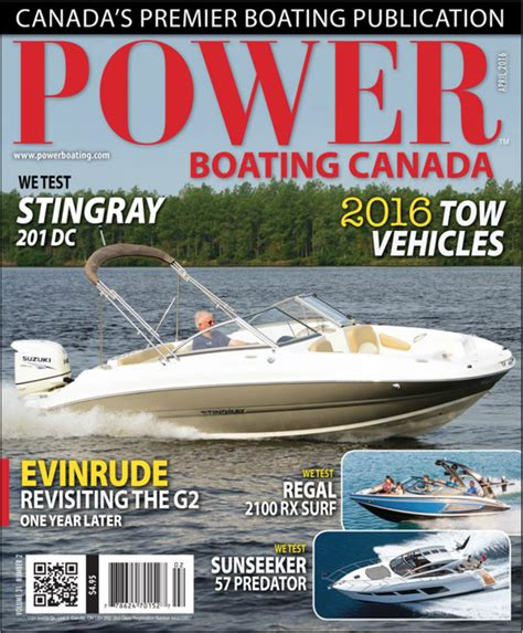 Power Boating Magazine Canada by Volume 31 Number 2 Powerboating