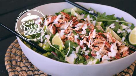 salade de poulet tandoori cuisine futée parents pressés