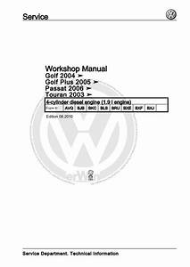 Vw Golf Engine Diagram Repair Manual