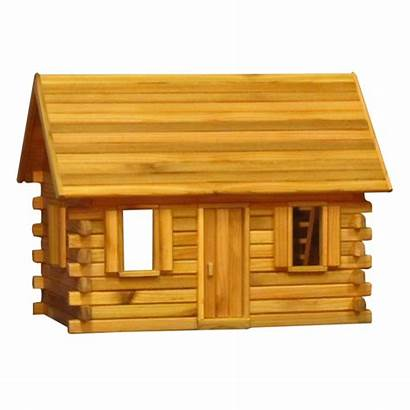 Finished Scale Inch Dollhouse Log Cabin Dollhouses