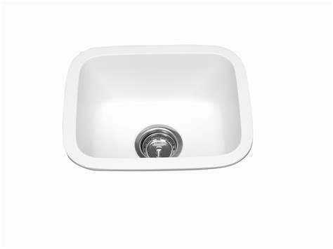 solid surface kitchen sinks meridian solid surface 230 single bowl integral kitchen