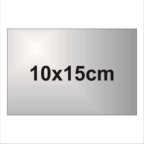 Placuta Din Aluminiu Gravata 10x15cm