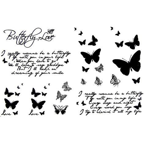 tatouage ecriture tatouage papillon faux tatouage