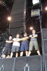 Foh Engineer Rat Sound And The Blink 182 Tour 2004