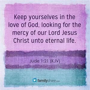 JUDE 1:21 KJV | King James Bible | Pinterest | Love Of God ...