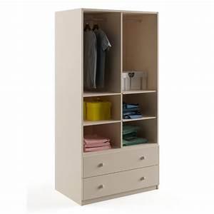Armoire 90 Cm Largeur : armoire savannah 90 cm azura home design ~ Teatrodelosmanantiales.com Idées de Décoration