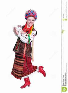 Girl In National Ukrainian (russian) Costume Royalty Free ...