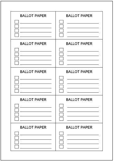 ballot template contest ballot template dtk templates