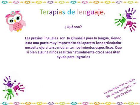 Terapias Del Lenguaje, Ejercicios Para Mejorar (1