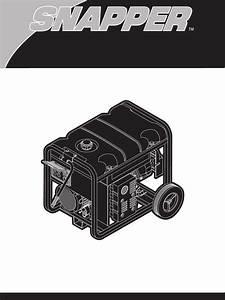 Snapper Portable Generator 030214 User Guide