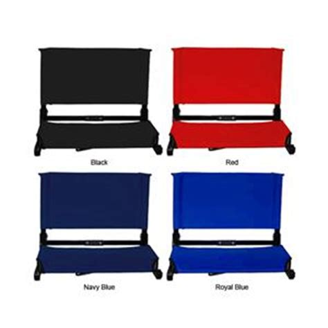 deluxe wide stadium chairs 4 colors soccer equipment and