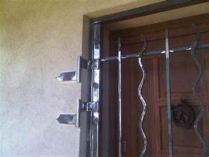 Barre De Sécurité Pour Porte D Entrée : grille de s curit pour porte d 39 entr e n mes ~ Premium-room.com Idées de Décoration