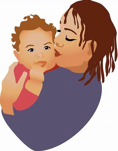 Mother Clipart African American Daughter Portrait Clip