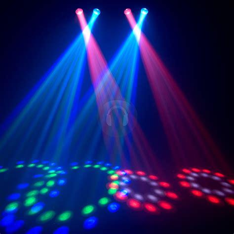 Disco Lights by Chauvet 4play Bright Rgb Led Dmx Dj Disco Light Ebay