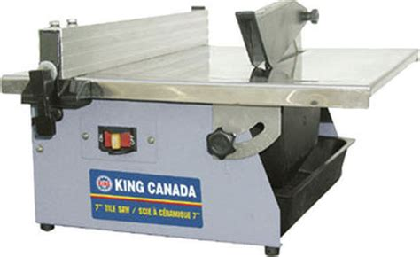 Dewalt Tile Saw Canada by King Canada Kc 3003n 7 Quot Tile Saw Kms Tools