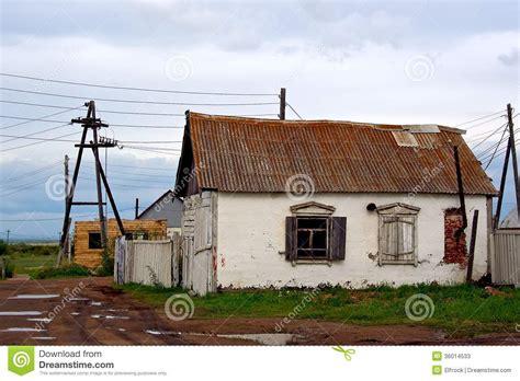 Traditionelles Russisches Haus Stockbild  Bild Von