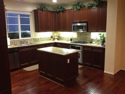 Replacing Granite Countertops - replacing the kitchen island countertop light or