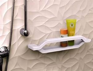 Support Savon Douche : adaptation salle de bain senior viter les chutes en ~ Premium-room.com Idées de Décoration
