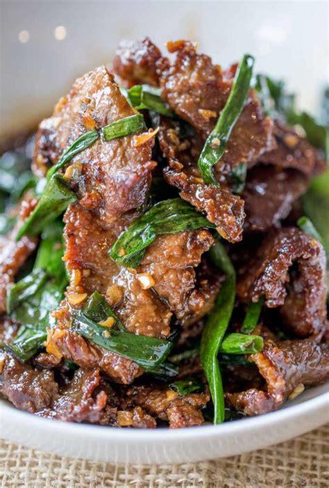 easy mongolian beef allfreecopycatrecipescom