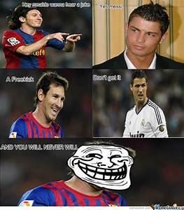 Ronaldo Messi Funny Quotes QuotesGram