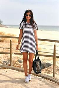 How to Wear Sneakers with a Dress u2013 Glam Radar
