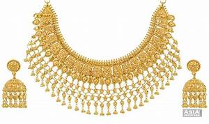 Indian Gold Jewellery Necklace Designs For Jewelry ...