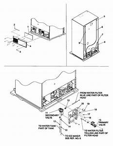 Cabinet Back Diagram  U0026 Parts List For Model 59652673200