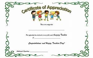 teacher appreciation certificate template 9 the best With teacher of the month certificate template