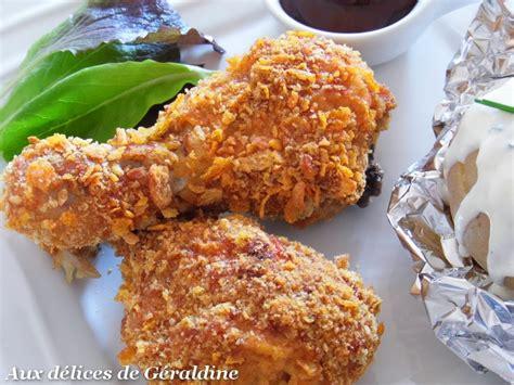 cuisiner pilon de poulet aux délices de géraldine pilon de poulet pané à l