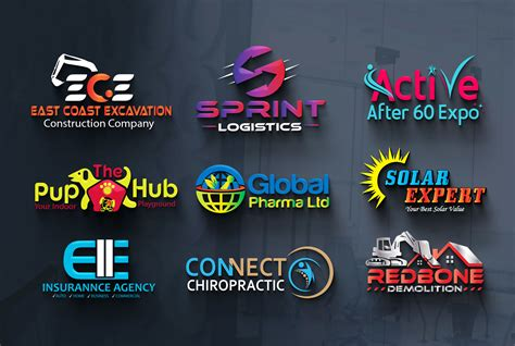 Design an awesome 3D logo for your business or company for ...
