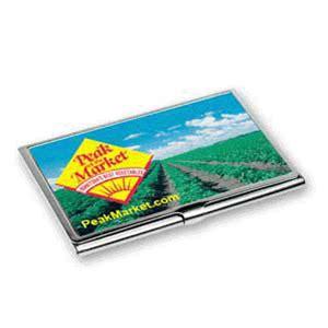 lenticular business card case  custom peak farmers