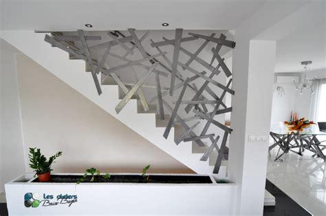 Re D Escalier Contemporaine Montreal by Les Ateliers Brice Bayer Ferronnerie D Art Garde Corps