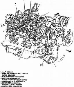 98 Suburban K150engine Diagram