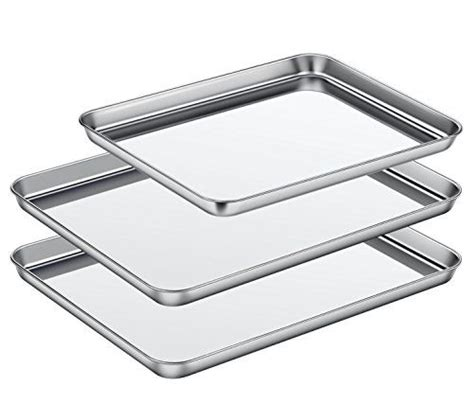 baking stainless steel sheet cookie pans clean tray dishwasher non aluminum cleaning orja deal site asel finish rust
