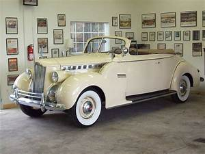 1940 Packard 160 Convertible Coupe-Super 8 | Classic Garage
