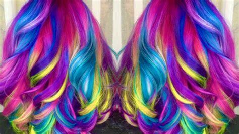 Unicorn Hair My New Hair ♥ Youtube
