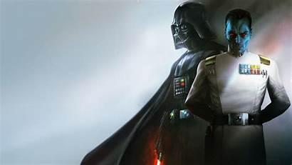 Thrawn Vader Darth 4k Admiral Grand Wallpapers